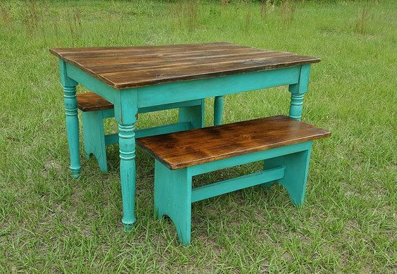 Beau Childrens Table Kids Table Reclaimed By FarmFreshCollections