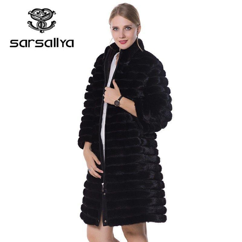 1a07f501a06f7 SARSALLYA real fur Women fur coats
