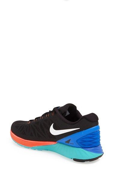Free shipping and returns on Nike 'Lunarglide 6' Running Shoe (Women) at  Nordstrom.com. Highly breathable mesh shapes a lightweight running shoe  with a ...