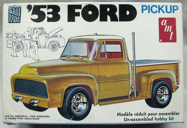 AMT 1953 Ford Pickup Truck