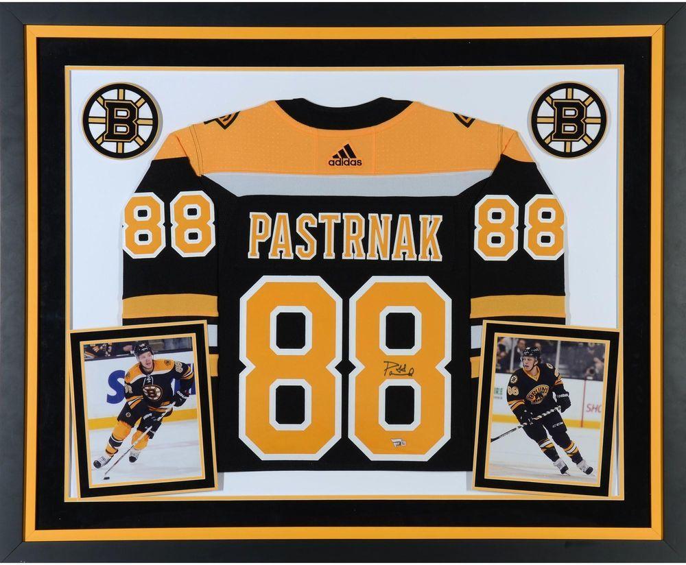 Autographed David Pastrnak Bruins Jersey Fanatics Authentic COA Item 9020845 8e3bc3cb2