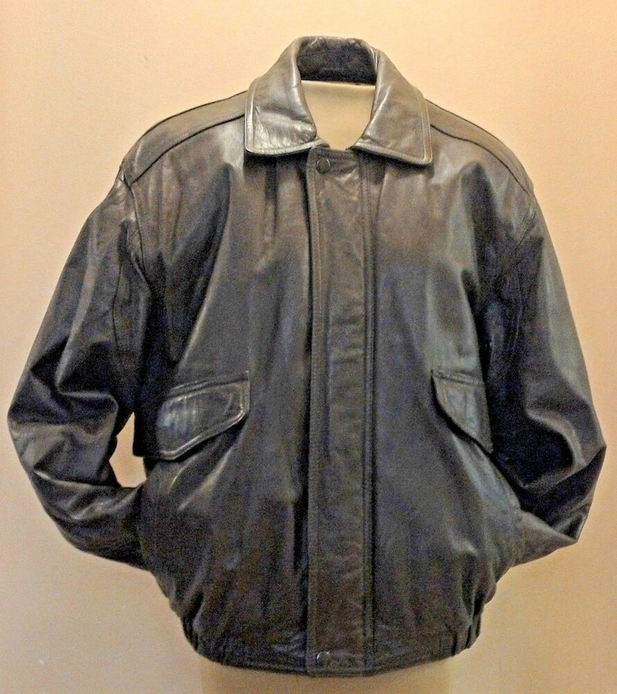 Leather Bomber Jacket Vintage 90s Coat Mens Small Brown Lined Classic Arcadia Arcadia Bomber Jacket Vintage Leather Bomber Jacket Leather Bomber [ 1000 x 890 Pixel ]