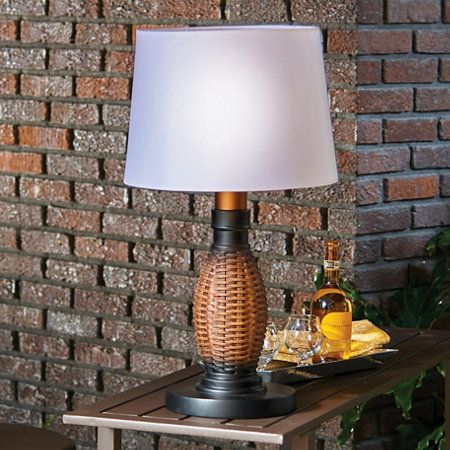 Battery Ed Outdoor Table Lamps