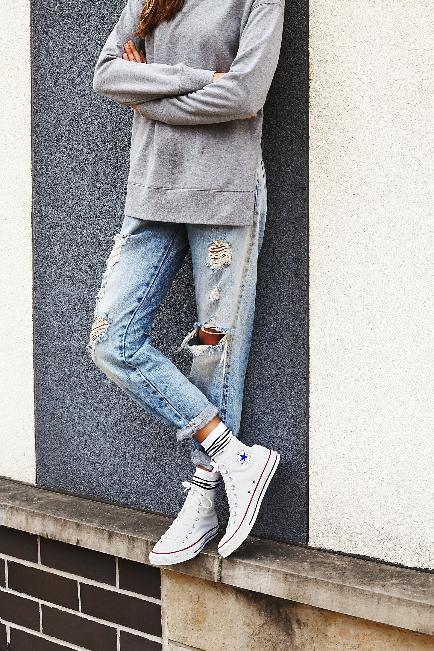 White converse outfits