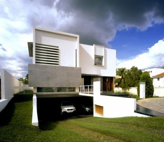 Novelty Grass Ramp For Basement Parking Minimalist House Design House Design Modern Home Interior Design
