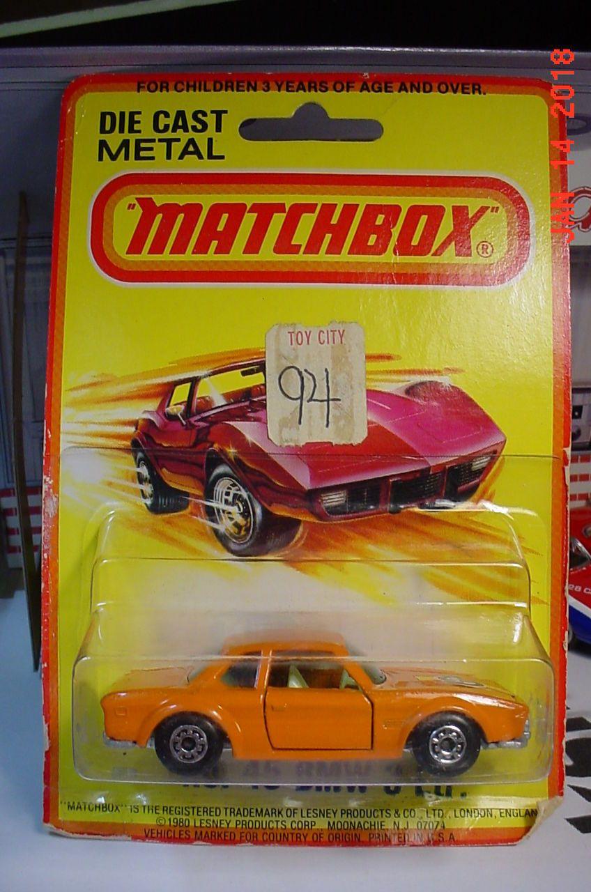 Matchbox Superfast 1980 MB 45 BMW 3 Ltr Orange Lesney