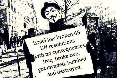 Israel broke UN resolution