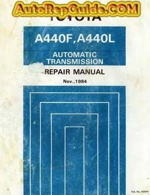 download free toyota automatic transmission a440f and a440l repair rh pinterest com toyota k410 transmission repair manual toyota cvt transmission repair manual pdf