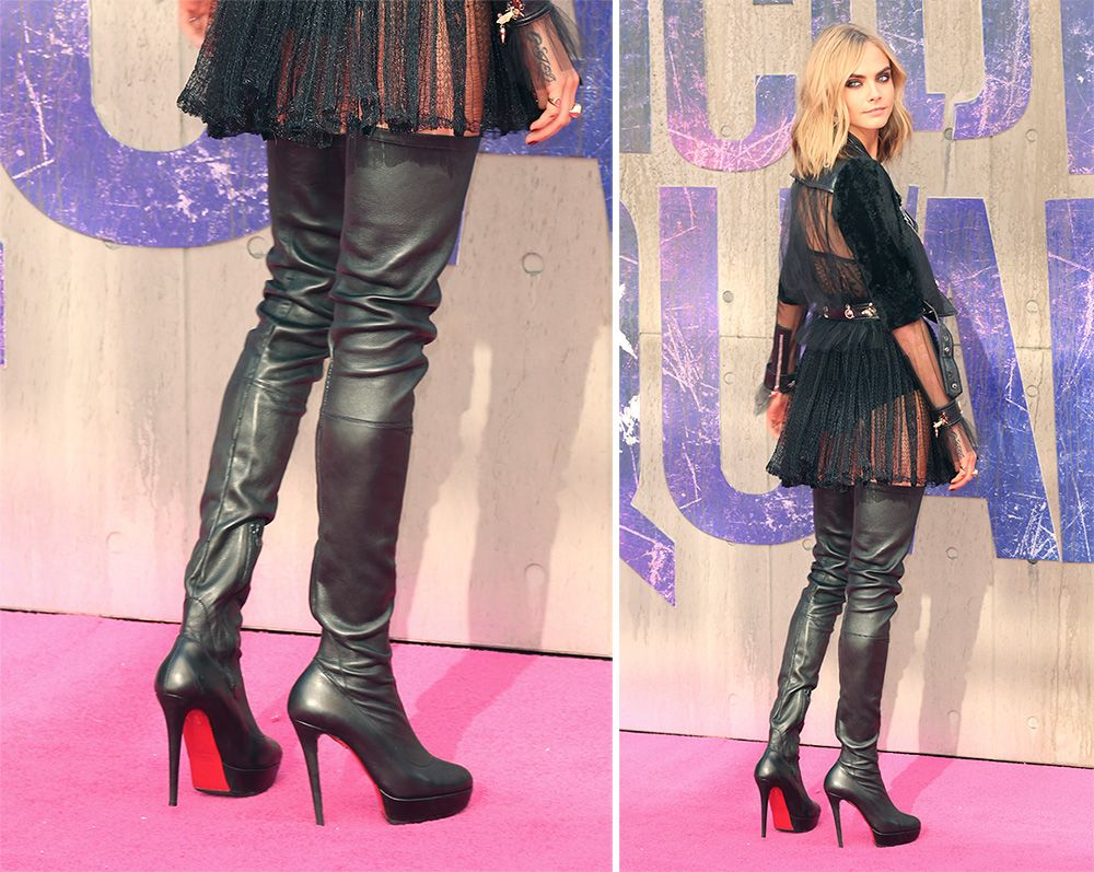 christian louboutin thigh high boots sale