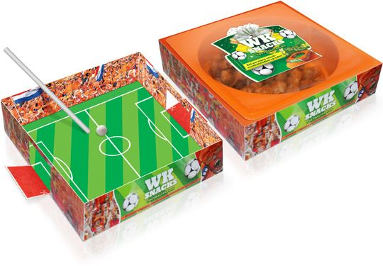 Packaging Design As A Blow Soccer Board Game 2014worldcupbrasil Pd Pizza Box Design Creative Packaging Packaging Design