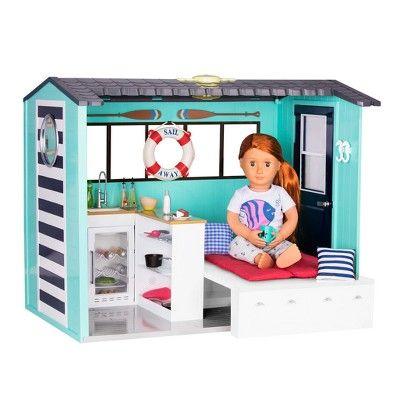 Our Generation Beach House In 2020 American Girl Doll