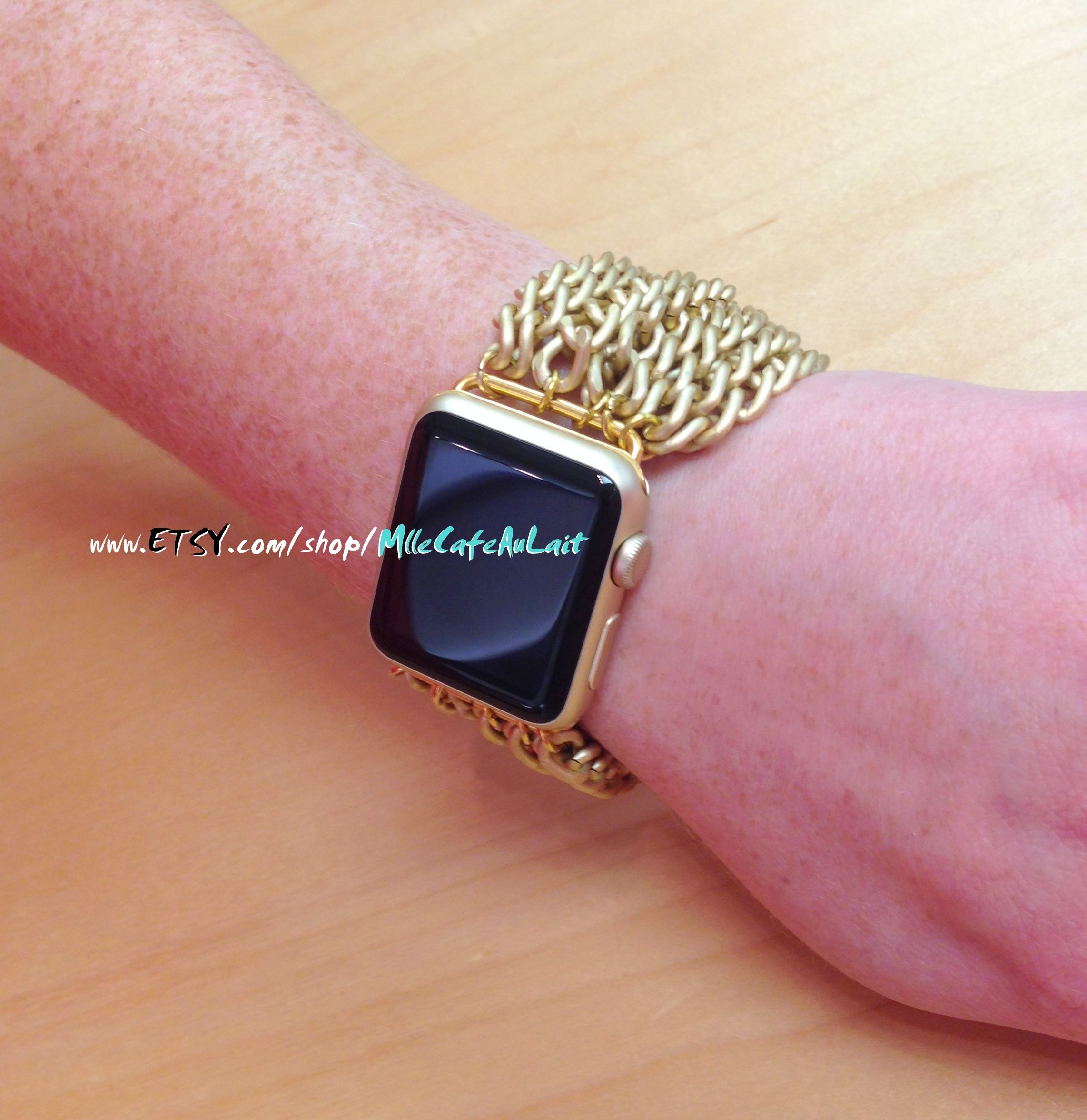 Pin by MlleCafeAuLait on Apple Watch Pinterest Gold apple watch