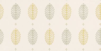 Cones Lush wallpaper by Little Greene