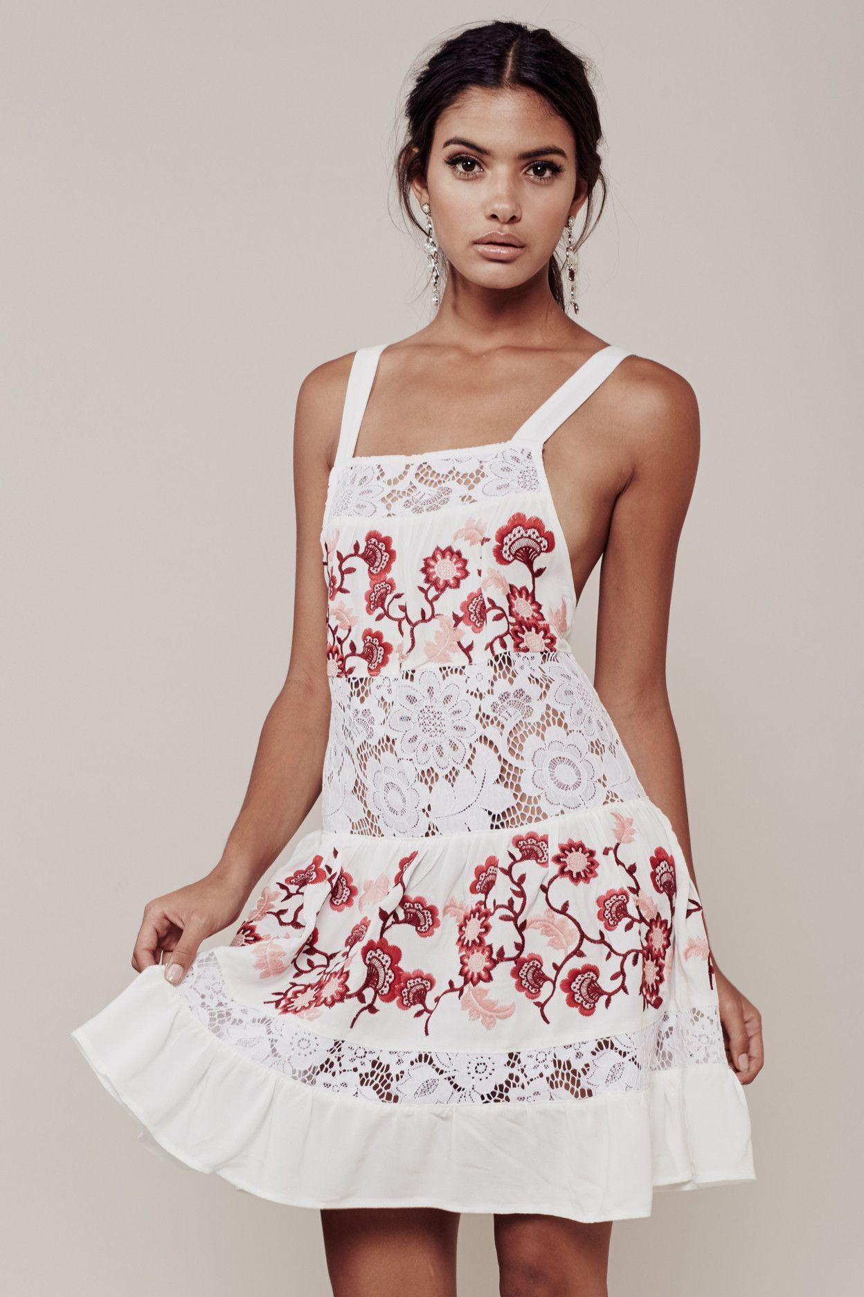 For Love & Lemons Isabella Tank Dress ($315). | Want It ...