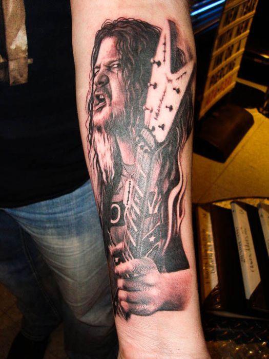 Dimebag Darrell Inspired Tattoos Tribute Tattoos Tattoos Metal Tattoo