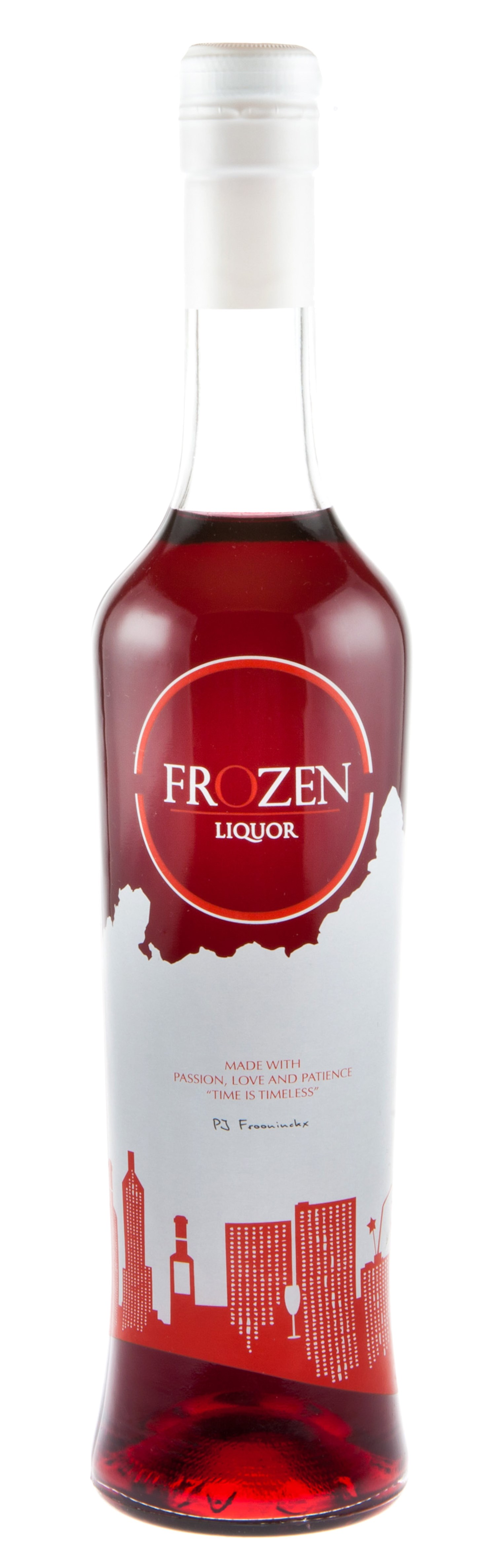 Frozen Liquor Is A Refined Natural Drink Made From Fresh Blackcurrant And Obey Vodka Pd