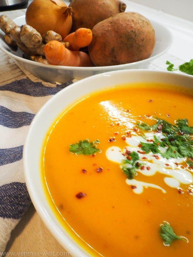 Süßkartoffel-Kokos-Suppe | ° Verenas Welt ° – Carey&CleanEatingS
