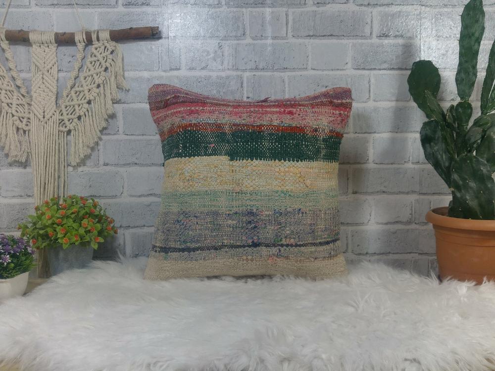 Basic kilim pillow , chair pillow , corner pillow , 16 x 16 kilim pillow , antique sofa pillow , gothic pillow , decorative pillow , 2667