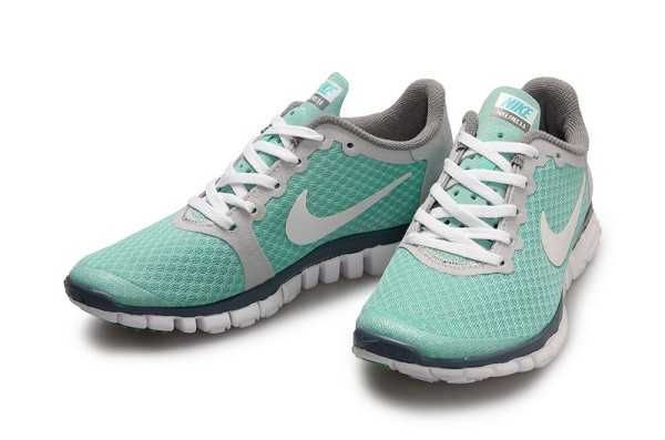 official photos ad8b7 5d5c6 UK Nike Free 3.0 V1 Womens Green Grey White Running Shoes ...