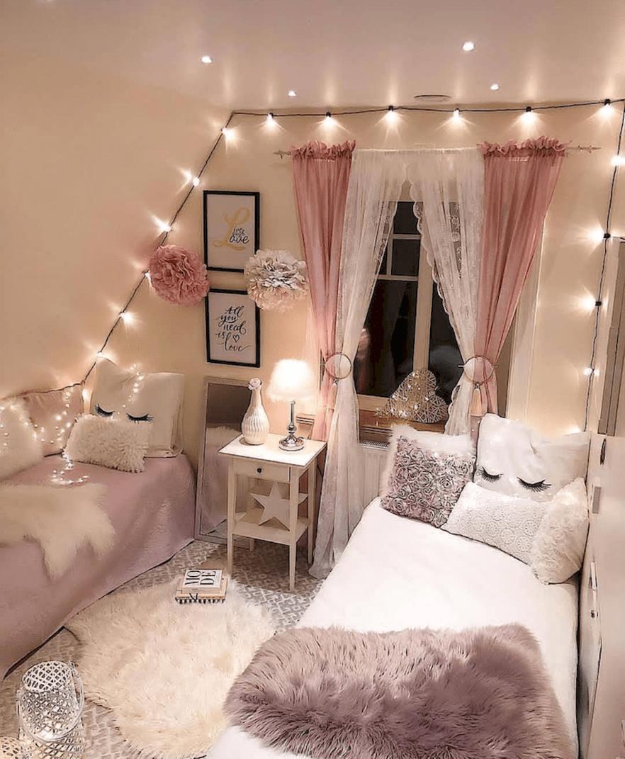 simple teen room