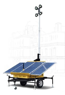 Solar Lighting Towers Has Manufactured High Quality Portable 3 Panel And 4 Panel Solar Led Light Tower Light Towers P Solar Lights Solar Outdoor Solar Lights