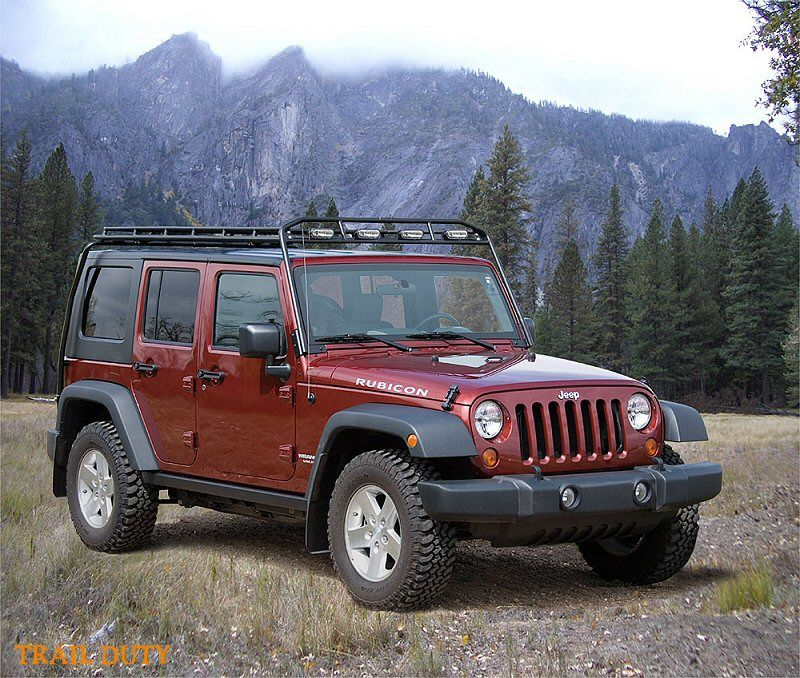 Gobi Jeep Wrangler JK Stealth Safari Roof Rack - JKowners ...
