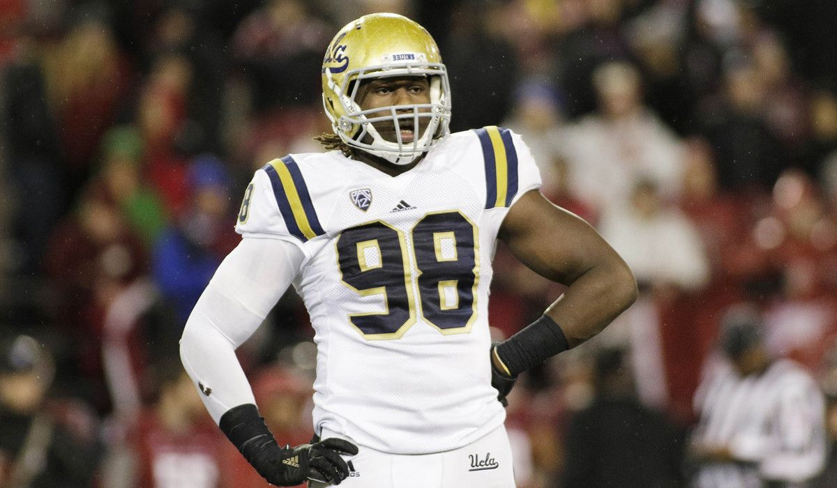 Falcons Select Takkarist McKinley 26th Overall NFL Draft
