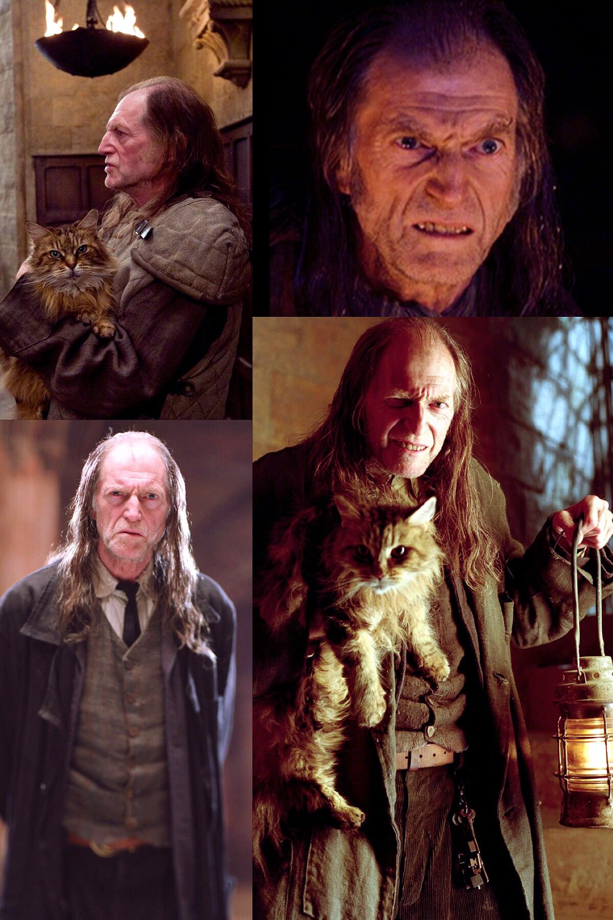 Argus Filch Harry Potter Characters Harry Potter Movies Harry Potter Drawings