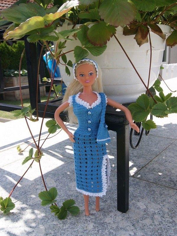 Mit diesem Barbie Set kann man seine Barbie für jeden Auftritt ...