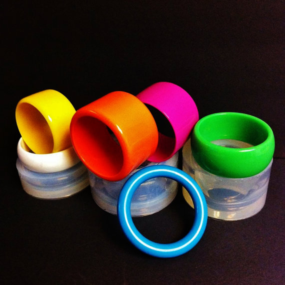 CLEAR SILICONE MOLD, MB022 BRACELETS MOLD.MULTIPLE SIZE