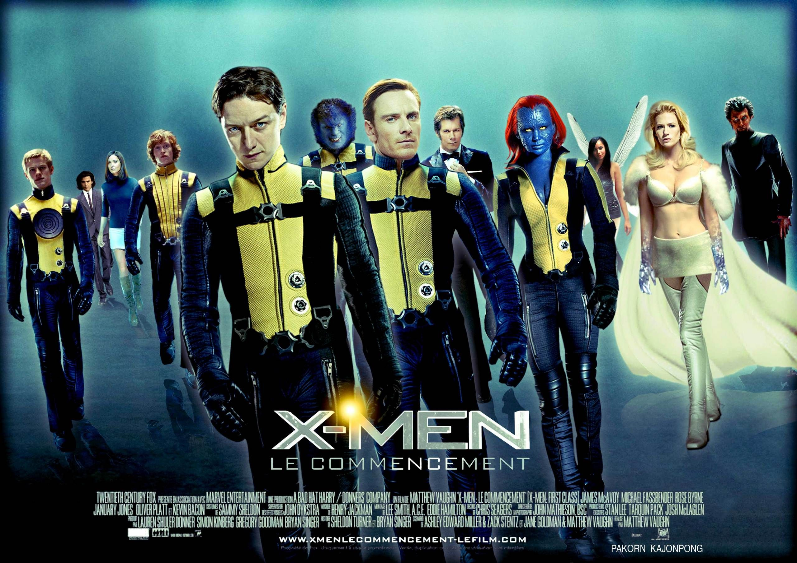 X Men First Class X Men Hollywood Movies List Marvel Costumes