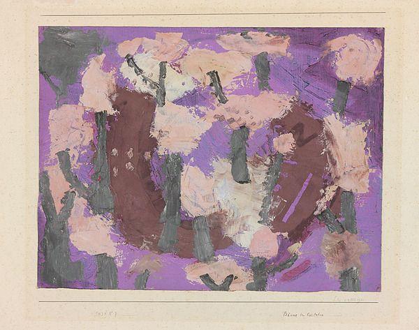 +++ Paul Klee, Trees in October, 1931...