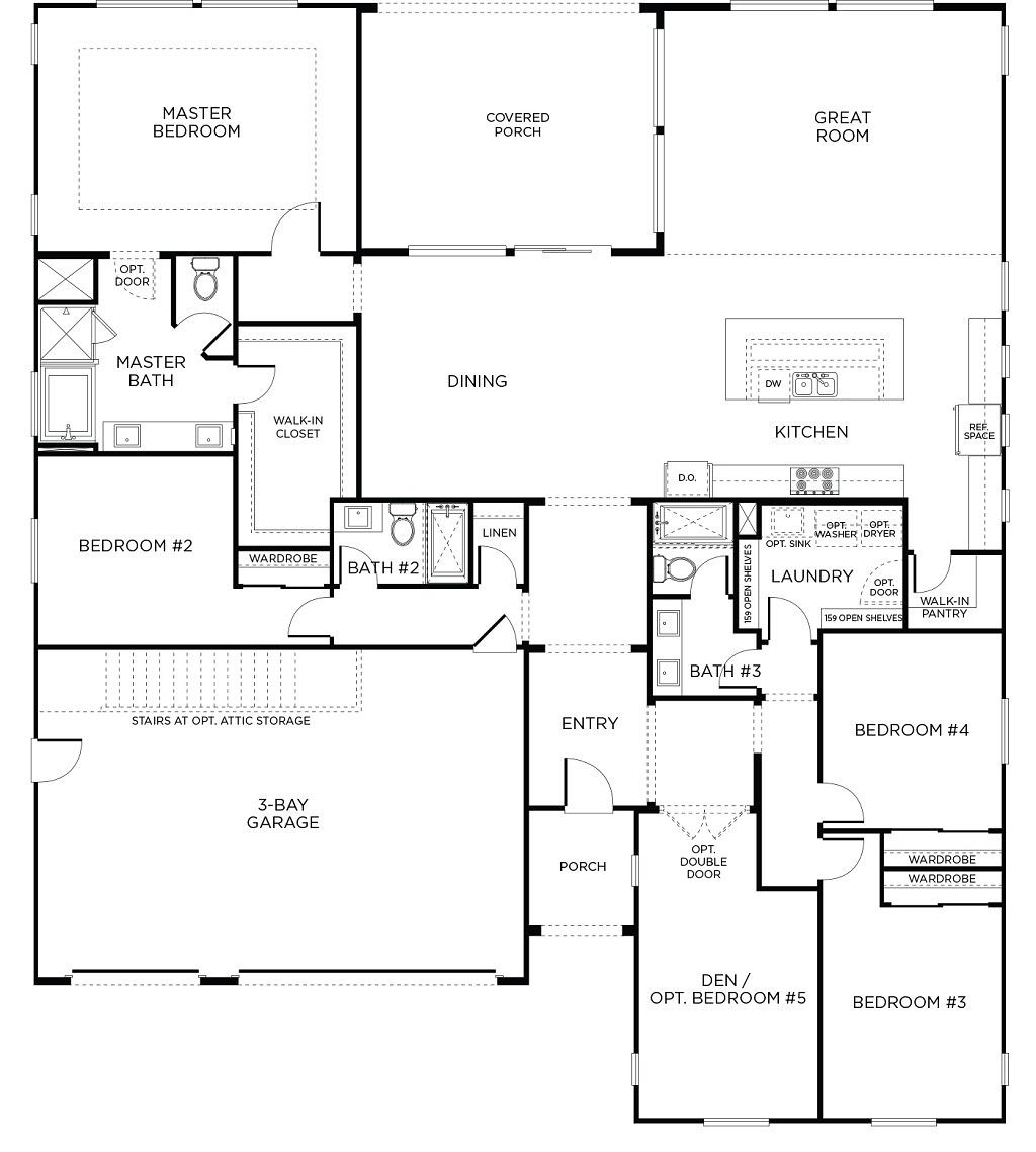 4 bed 3 bath single story homes flagstone floor plan 1 4 bed 3 bath single story homes flagstone floor plan