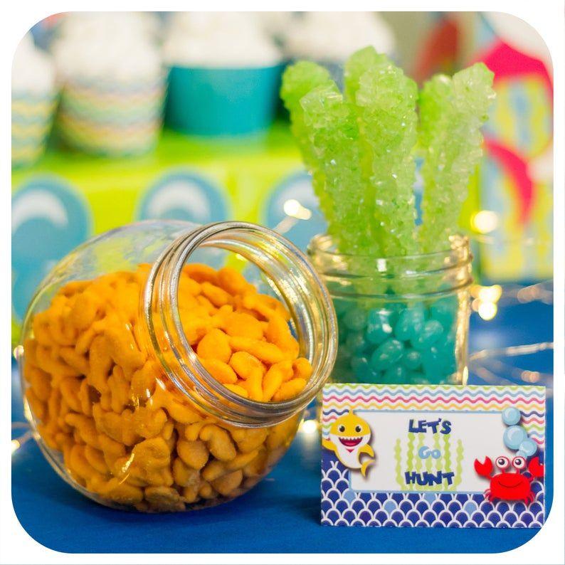 Pin on Baby shark birthday ideas