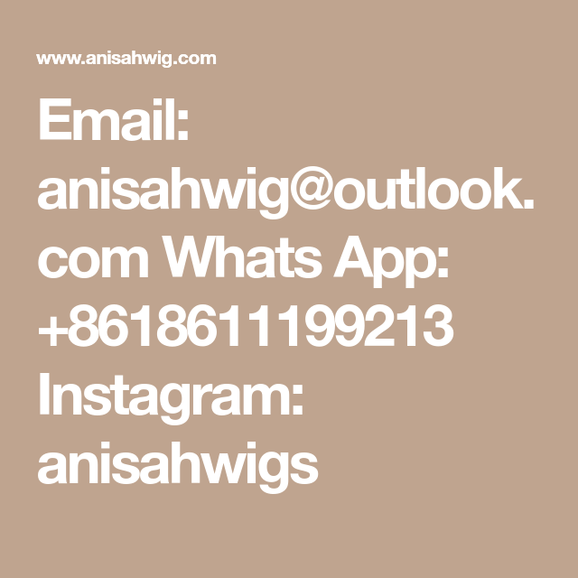 Email: anisahwig@outlook.com Whats App: +8618611199213 Instagram: anisahwigs | Short bob ...