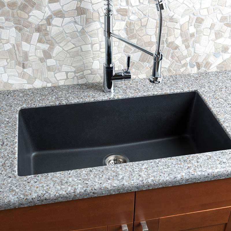 View The Miseno Mgr3318 33 Undermount Single Basin Granite