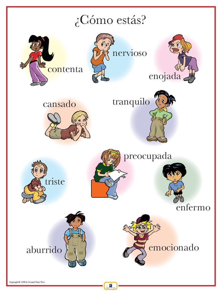 spanish emotions poster teaching spanish worksheets learning spanish teaching spanish. Black Bedroom Furniture Sets. Home Design Ideas