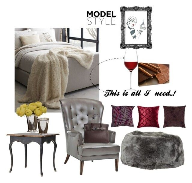 """""""Sin título #117"""" by marianaleonluzardo on Polyvore featuring interior, interiors, interior design, hogar, home decor, interior decorating, West Elm, Natures Collection, Universal Lighting and Decor y Jaipur"""