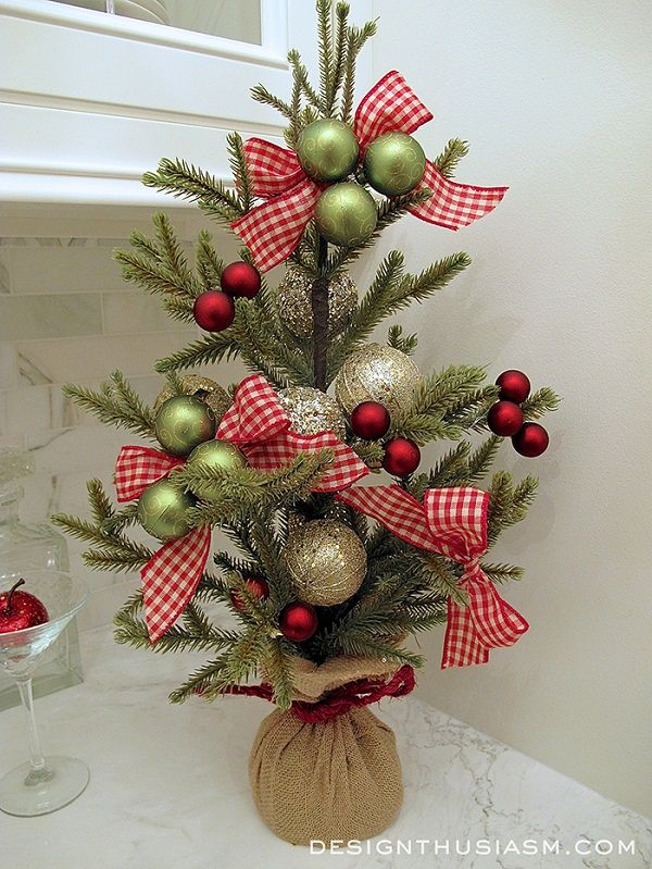 40 Small Christmas Trees Christmas Pinterest - how to decorate a small christmas tree
