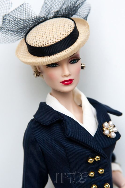 Imogene Gets a BoaterEnsemble | Inside the Fashion Doll Studio on WordPress.com.
