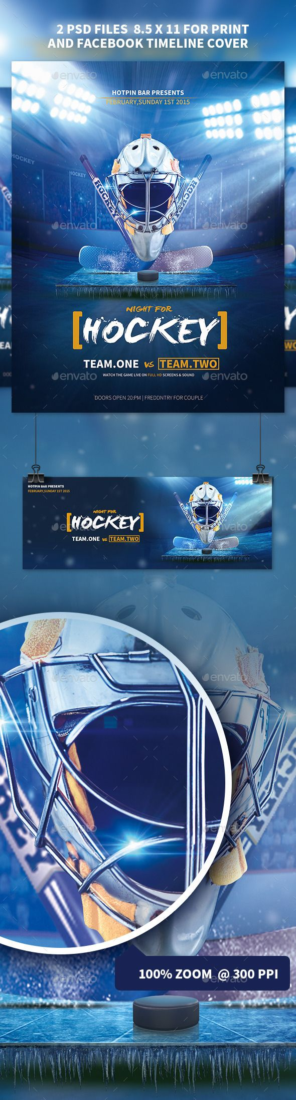 Hockey match flyer template pinterest flyer template template hockey match flyer template photoshop psd ice arena college hockey available here maxwellsz