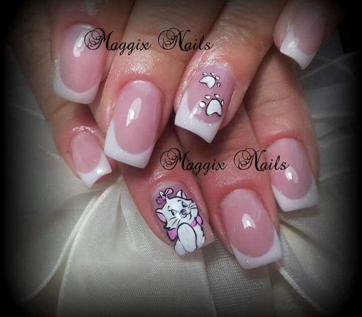 Arisocats nails disney | Polished And Pretty! | Pinterest | Disney ...