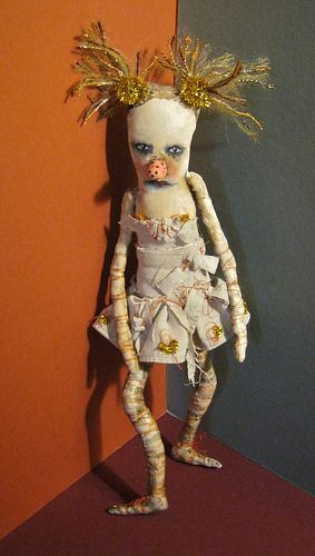 Camille art doll dancer , Sandy Mastroni | by Sandy Mastroni