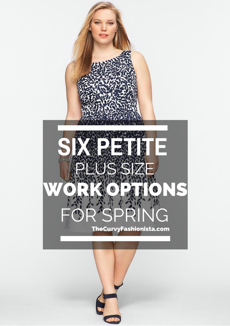 6 Petite Plus Size Work Options for Spring | Work clothes