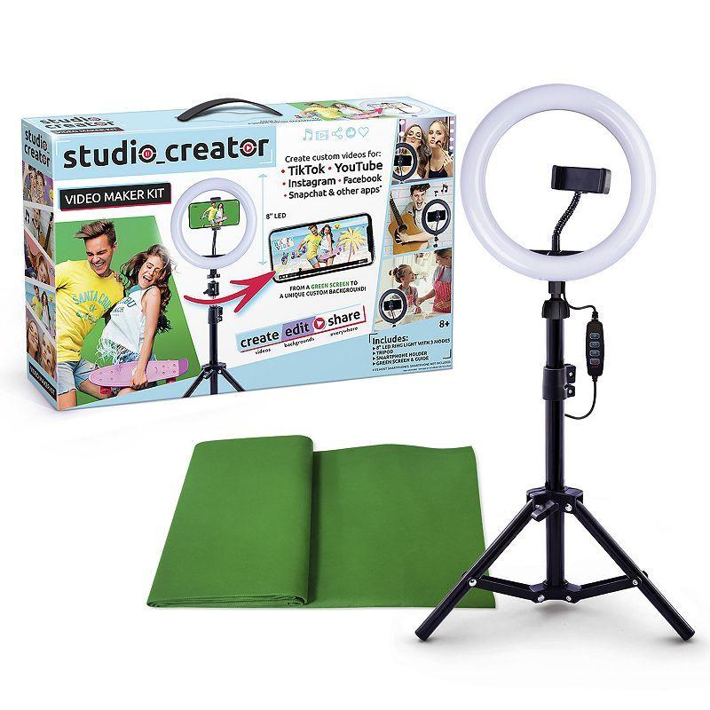 Studio Creator Video Maker Kit Greenscreen Video Maker Instagram And Snapchat