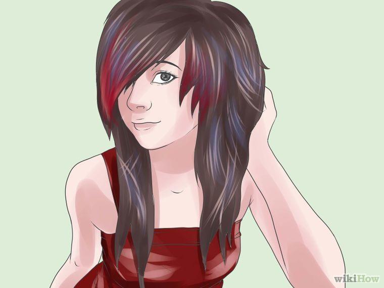 How To Get Emo Hair Emo Scene Hair Long Scene Hair Emo Hair