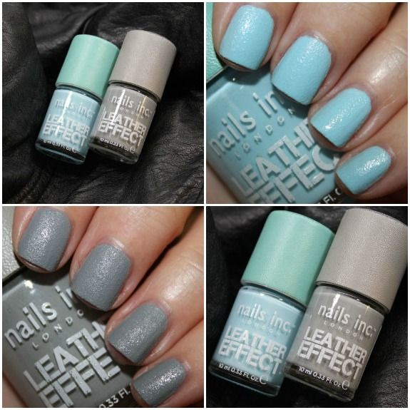 Nails Inc Leather Effect Collage Nail Polish In Dalston And