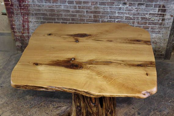 Curly Sassafras Dining Table Top W Crushed Geode Inlay Natural Upcycled Wood Furniture Live Edge Slab Rustic Tables Slab Dining Tables Dining Table Top Rustic Table
