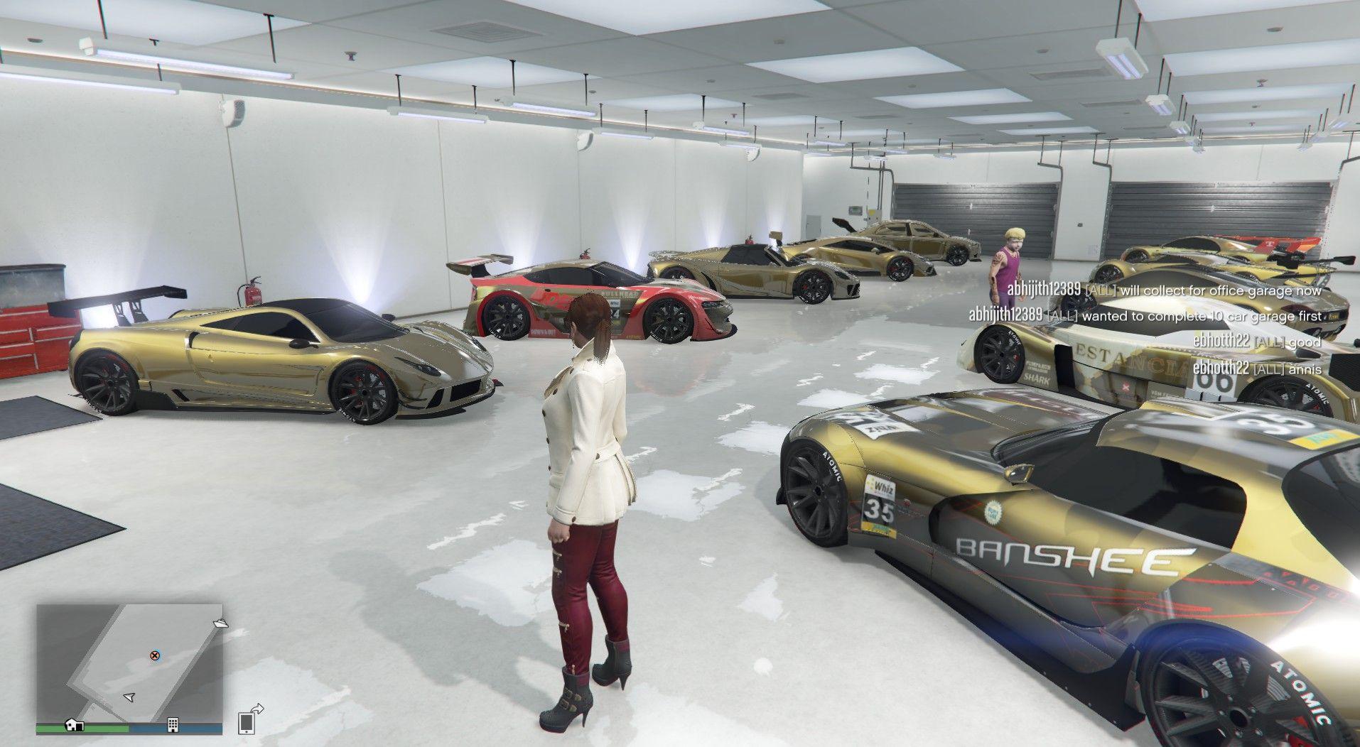 Finally Filled My Eclipse Garage Grandtheftautov Gtav Gta5
