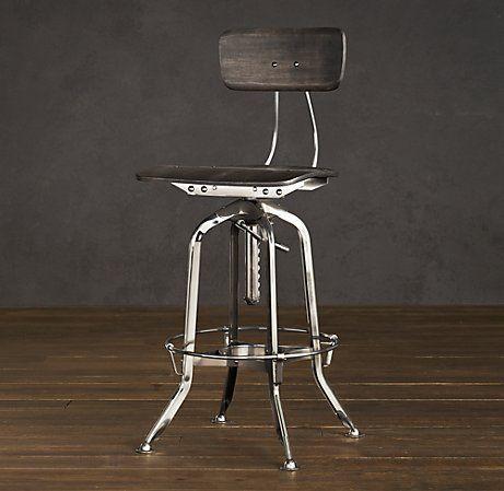 1940s Vintage Toledo Bar Chair
